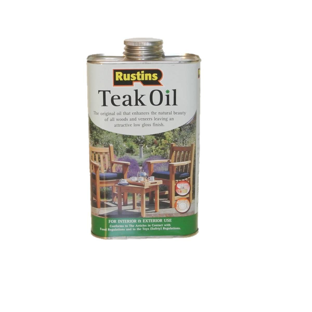 rustin teak oil 1 0 liter. Black Bedroom Furniture Sets. Home Design Ideas